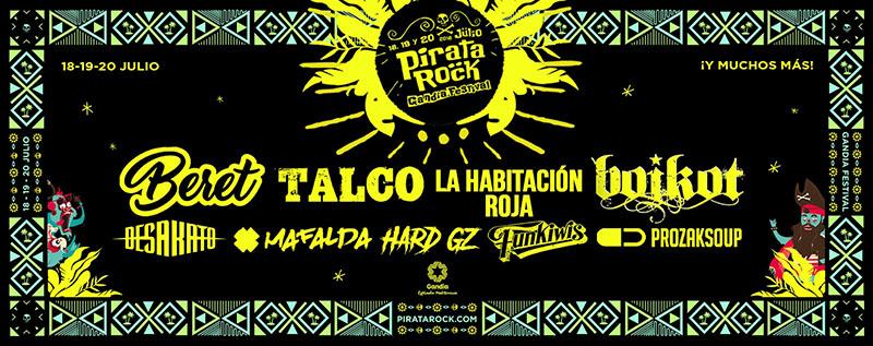 Pirata Rock 2019 La Habitacion Roja