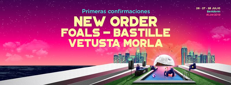 New Order, nuevo cabeza de cartel del Low Festival 2019