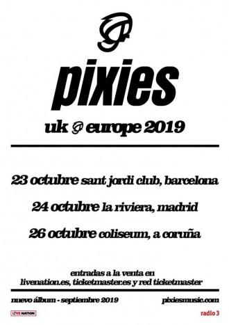 pixies España 2019