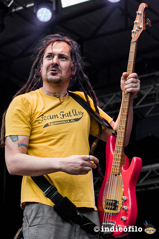 Roger Lima Punk in Drublic 2019 Barcelona - Less Than Jake