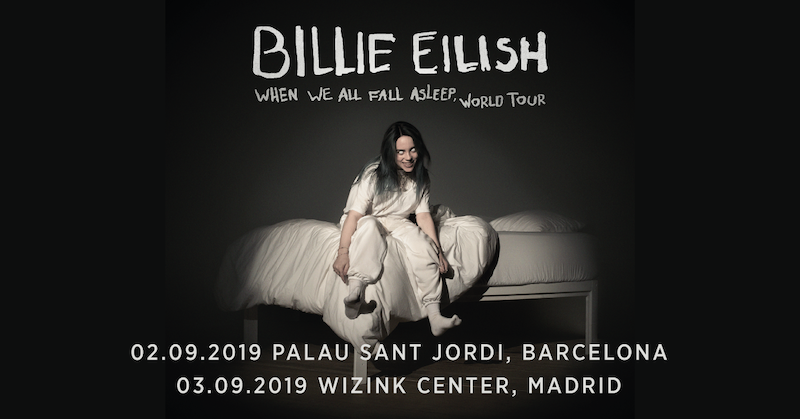 Billie Eilish cambia el recinto de sus conciertos en Barcelona y Madrid