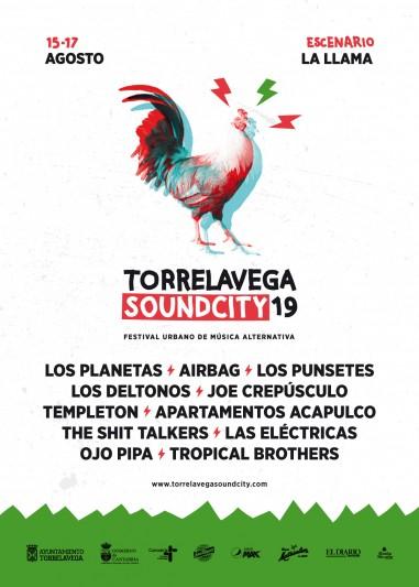 Presentación cartel Torrelavega Soundcity 2019