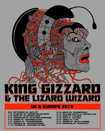 King Gizzard & The Lizard Wizard announce European Tour 2019
