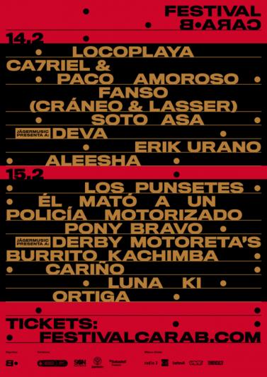 El Festival Cara·B 2020 cierra su cartel y anuncia actuaciones por días