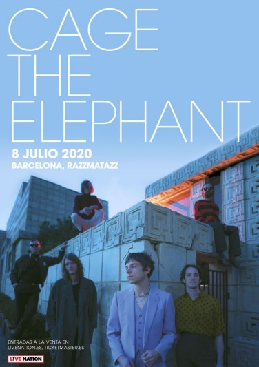 Cage The Elephant actuarán en Barcelona en julio de 2020