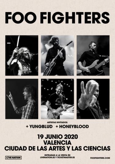Foo Fighters anuncian concierto en Valencia en junio