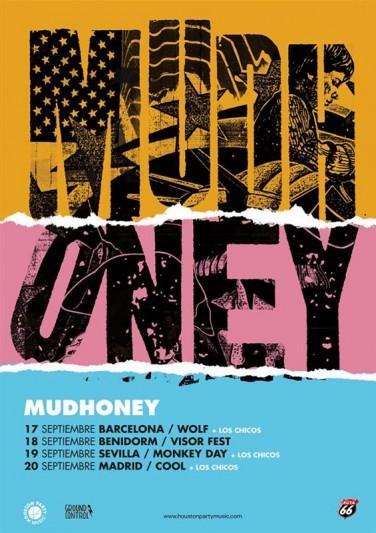 Mudhoney visitarán España en septiembre de 2020