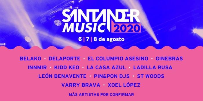 El Santander Music 2020 confirma sus primeros nombres