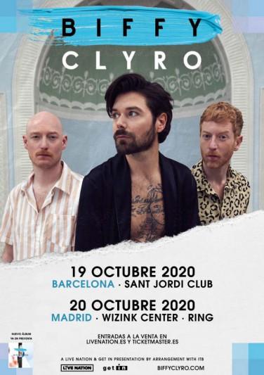 Biffy Clyro anuncian conciertos en Madrid y Barcelona para 2020