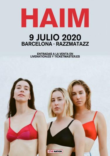 HAIM anuncian concierto en Barcelona para 2020