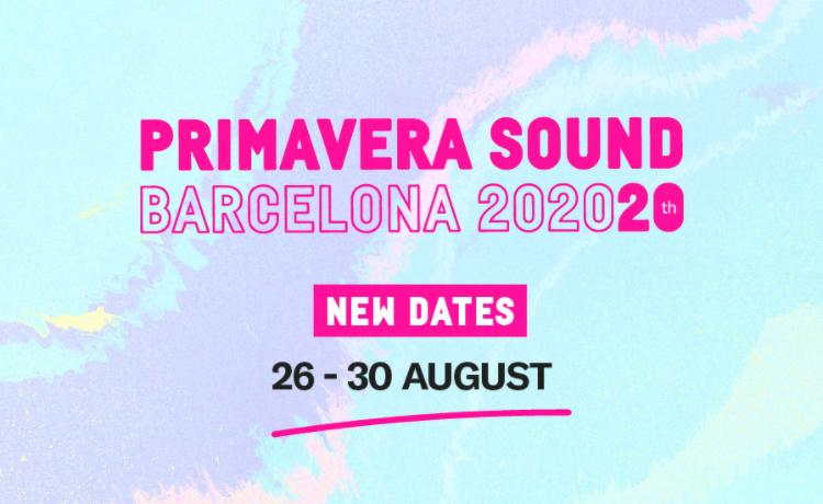 Primavera Sound 2020 se aplaza al mes de agosto