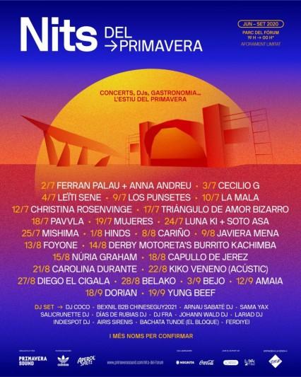 Nuevo ciclo de conciertos al aire libre este verano en Barcelona