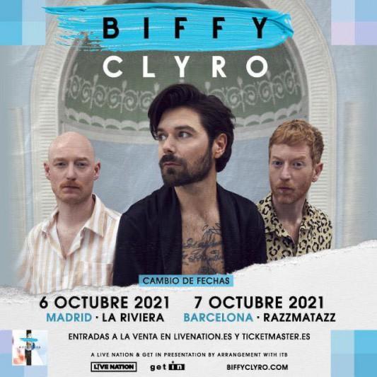 Biffy Clyro anuncian nuevas fechas para sus conciertos en Madrid y Barcelona