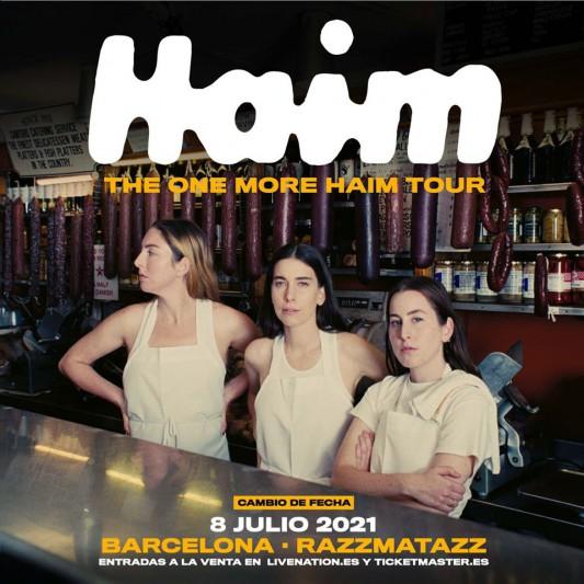 HAIM reprograman su concierto en Barcelona para julio de 2021