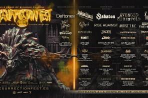 Ya tenemos cartel para el Resurrection Fest 2022