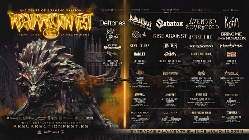 Resurrection Fest 2022