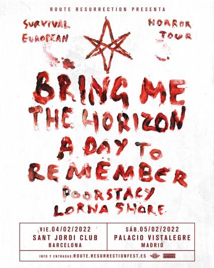 Bring Me The Horizon anuncian conciertos en España en febrero de 2022