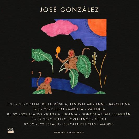 José González anuncia cinco conciertos en España en 2022