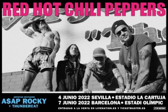 Red Hot Chili Peppers Barcelona 2022